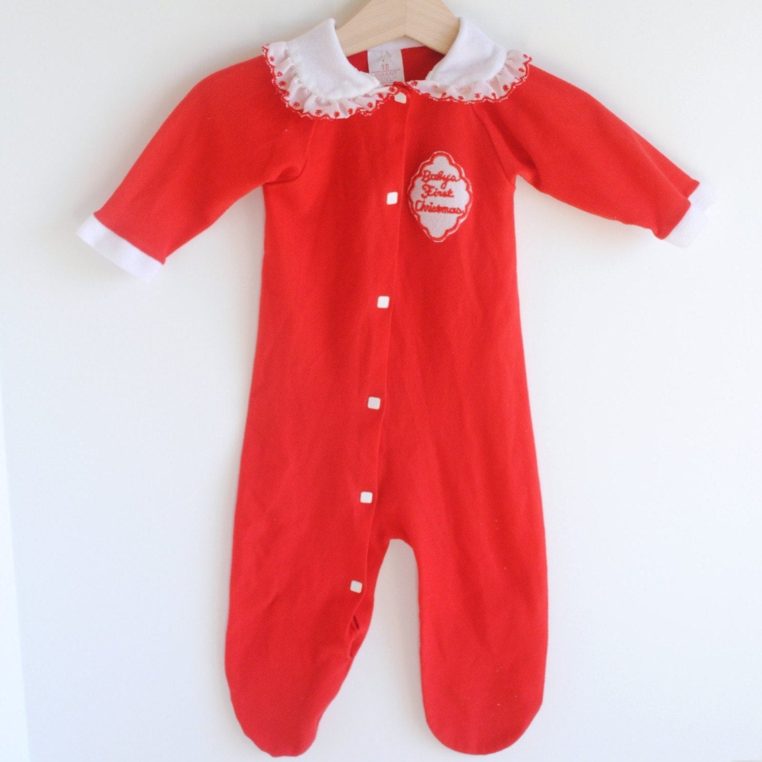 vintage babys first christmas