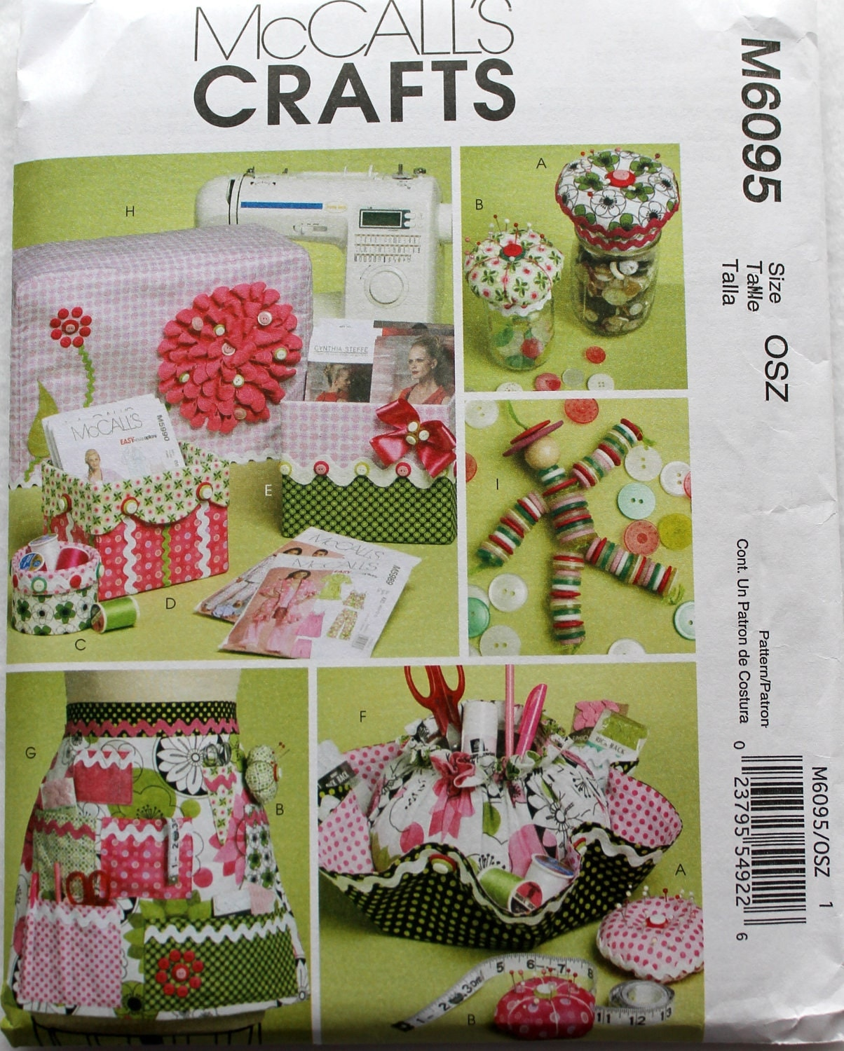 McCalls Pattern, Sewing Pattern, Paper Pattern, Craft Supplies on Etsy