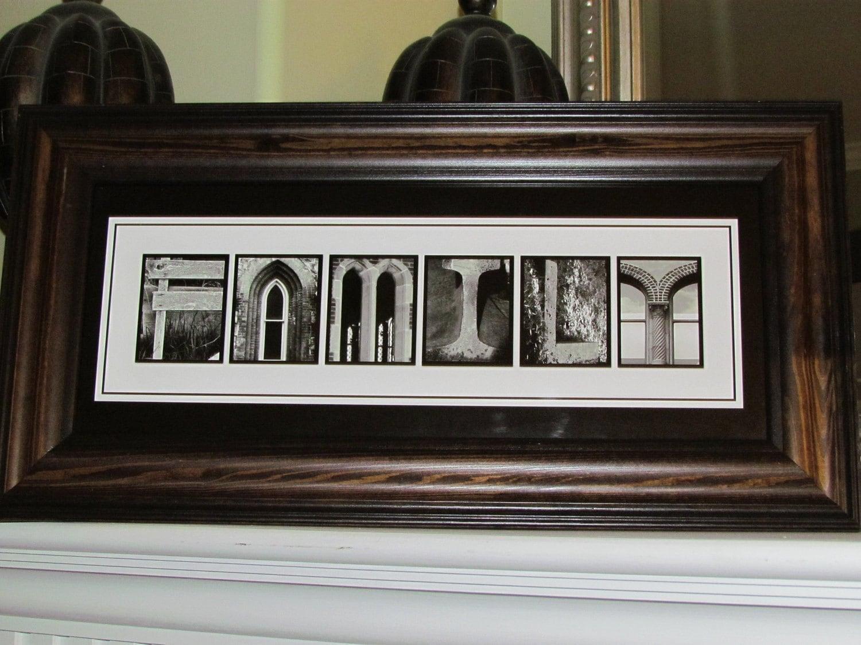 items similar to framed alphabet letter art photography With framed letter art photography