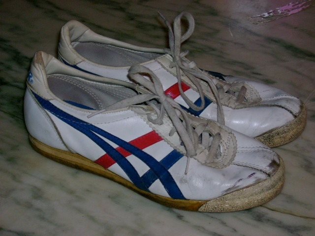 vintage 1980 s asics tiger tennis shoes rad by