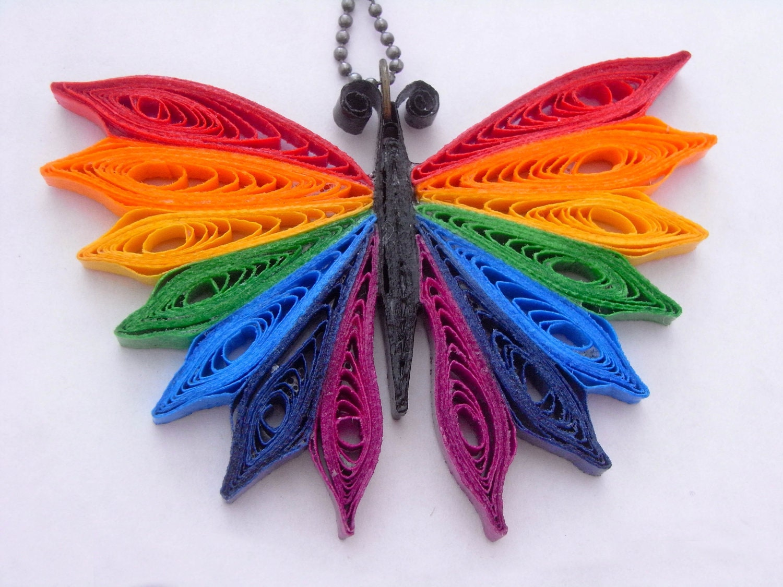 Бабочки из квиллинга своими руками
