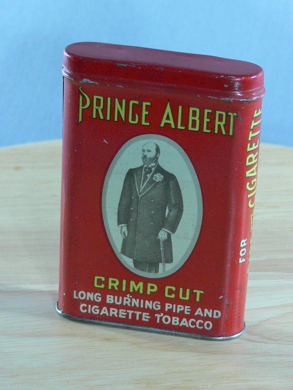 Dating prince albert tobacco cans