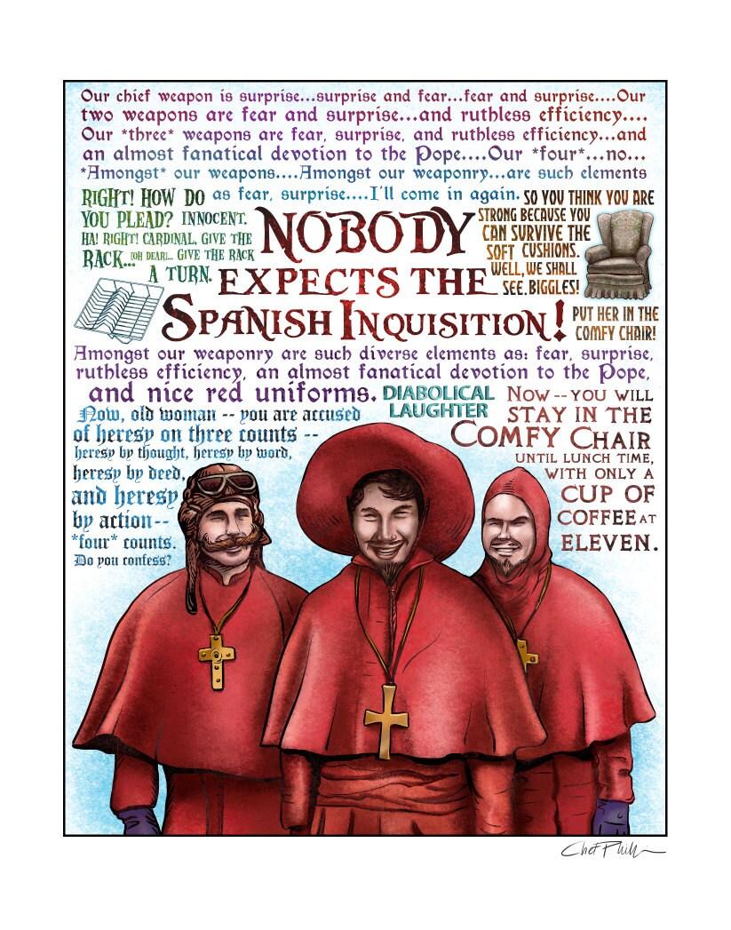 monty python the spanish inquisition sketch