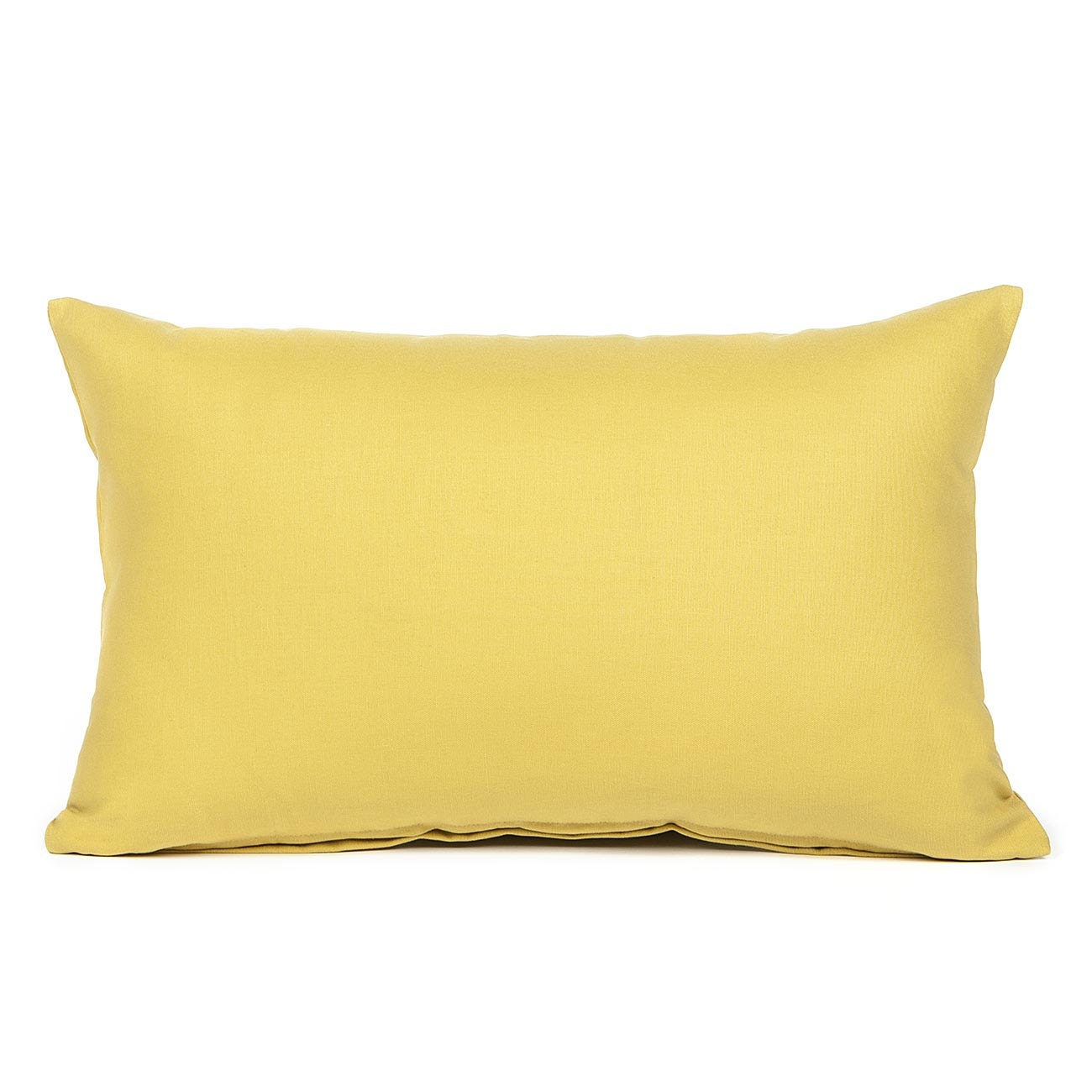 Mustard Throw Pillow Covers : 12 X 20 Solid Mustard Yellow Oblong Throw Pillow Cover by BHDecor