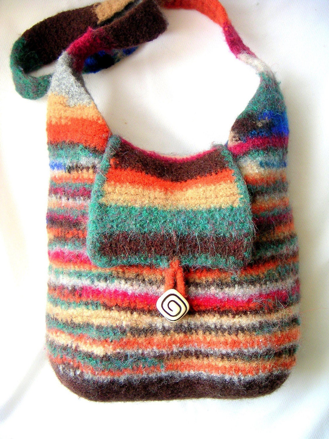 Classic Hobo Bag Crochet Felted Pattern by ...