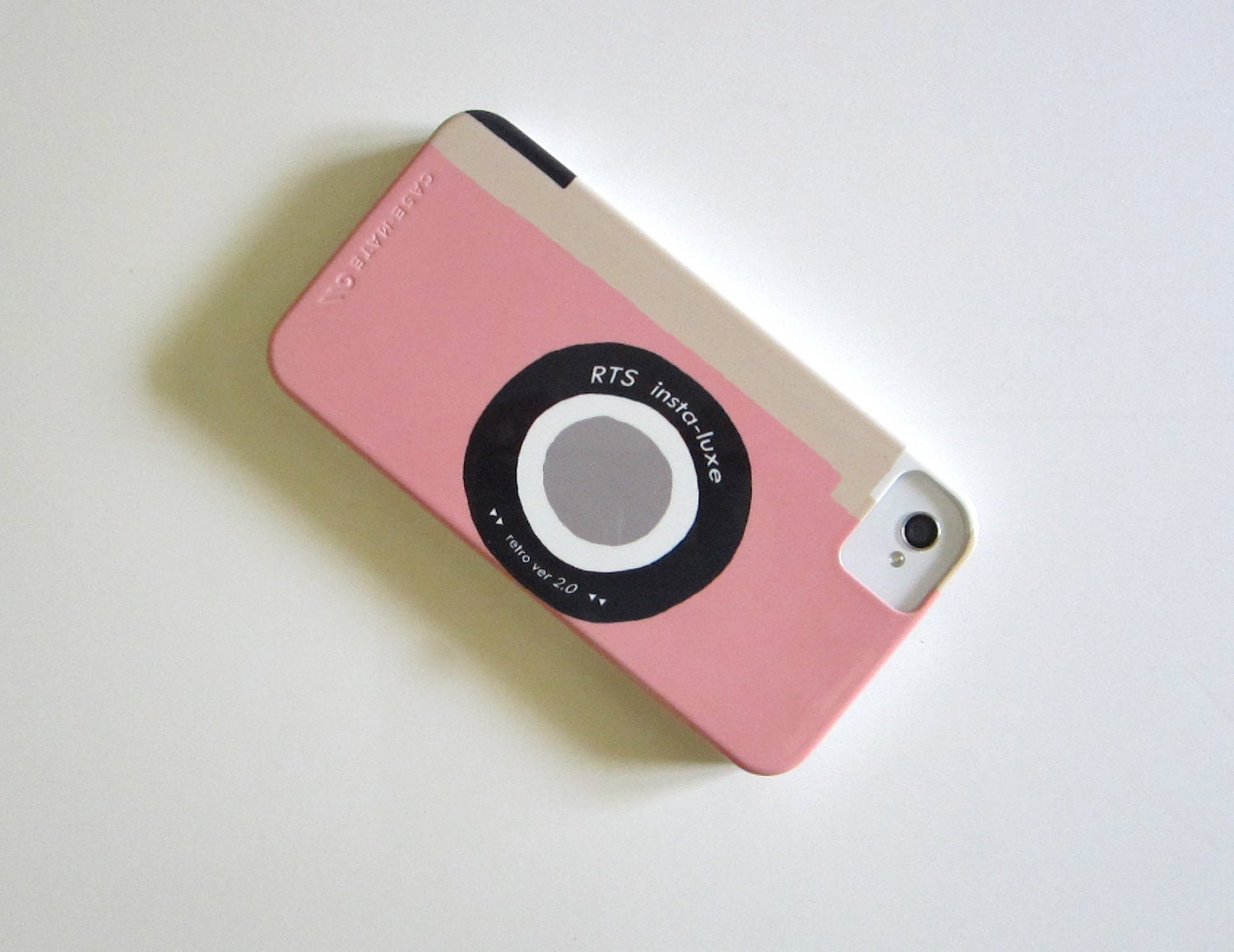 iPhone 5 case Camera Pink Vintage Retro iPhone 4/4s case Modern Mom accessories redtilestudio - redtilestudio