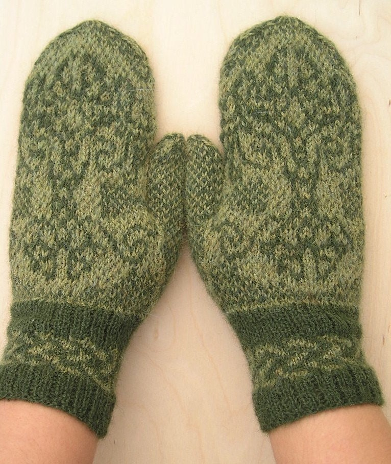 Tree Of Life Knitting Pattern : Knitting Pattern for Celtic Tree of Life by barefootinvermont
