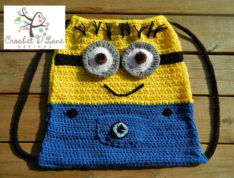 Items similar to Boutique Custom Crochet Dave The Minion ...