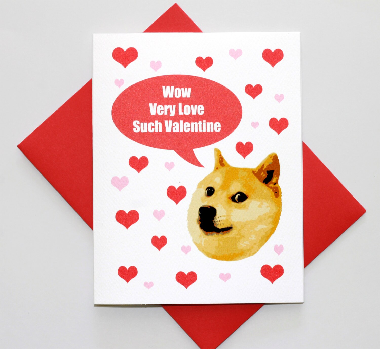 animal valentines day memes - Doge Valentine s Day Funny Meme Greeting Card Pop by