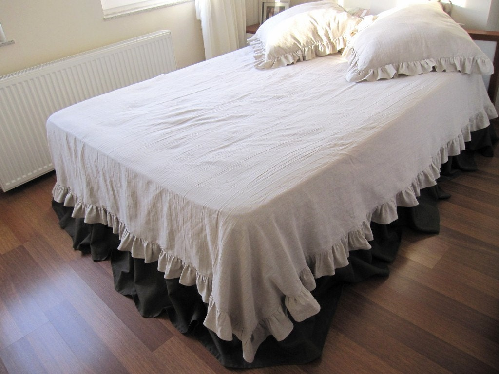 Unavailable listing on etsy for Frilly bedspreads