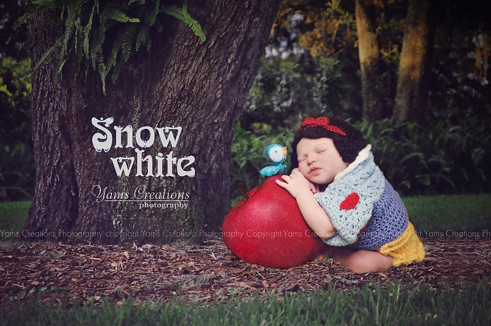 Baby Snow White Wig 15