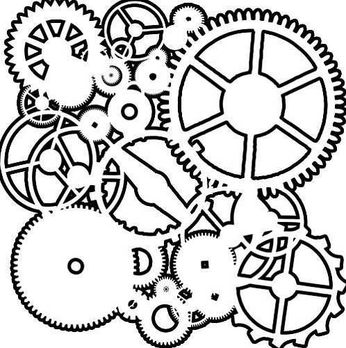 Football Rugby Coloring Pages besides Crafters Workshop Stencil Mask 6 X 6 besides 206948 further Mountain Black And White Outline furthermore Skull And Cross Pistons 181457034. on bike gear clip art