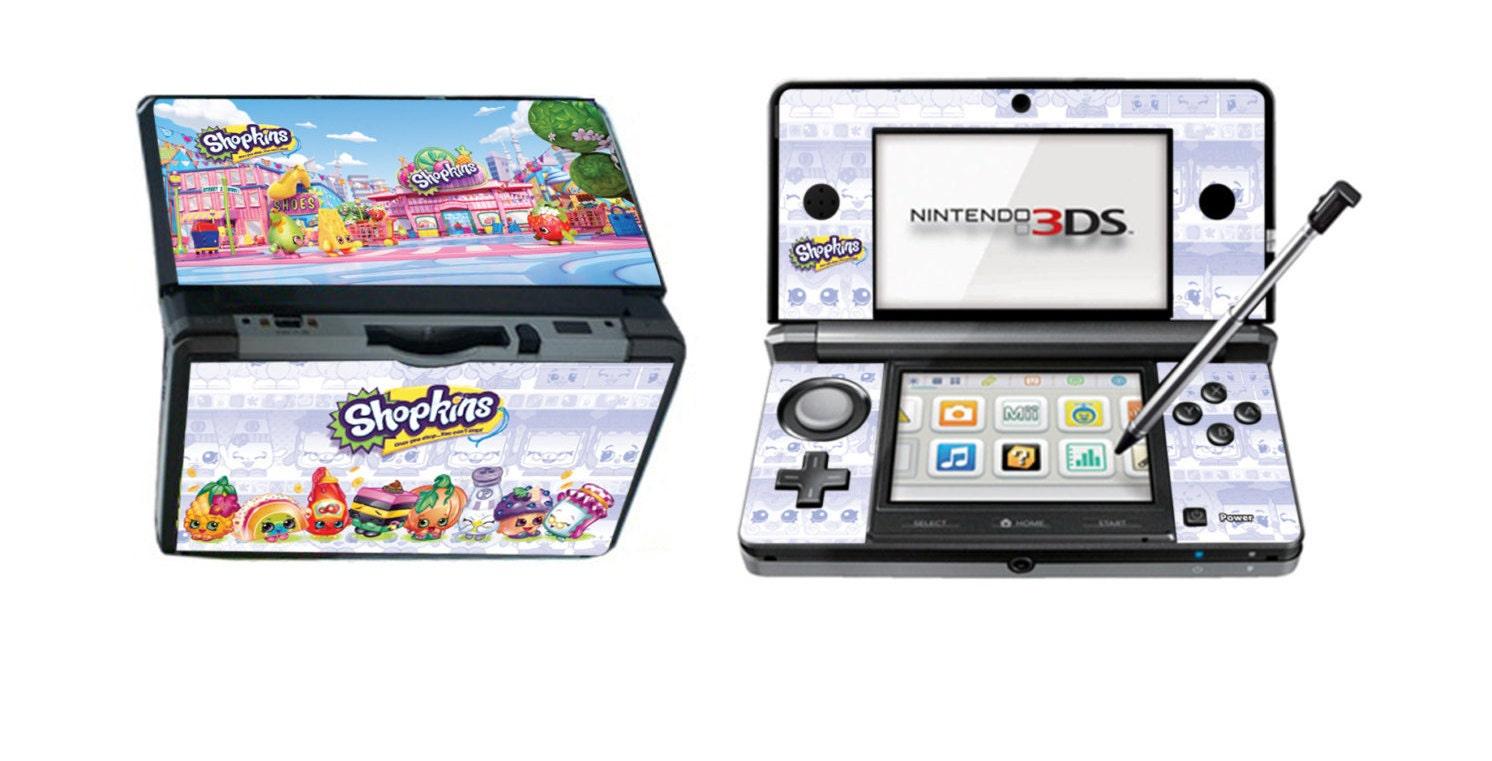 Shopkins Vinyl Skin Sticker for Nintendo DS liteDSiDSi xl3DS3DS xlNew 3DS cstickNew 3DS xl cstick2DS