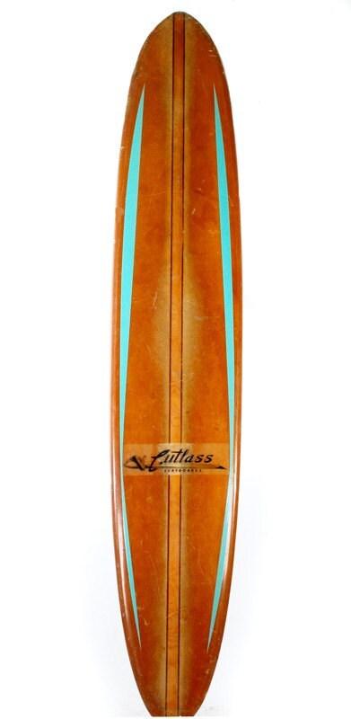 Vintage Longboard Surfboard 1960 S By Vintagelookscom On Etsy