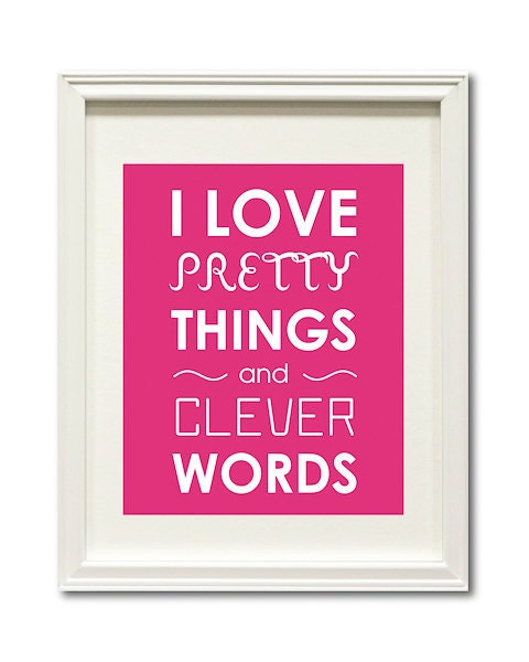 I Adore Pretty Things And Witty Words Unavailable Listing on...
