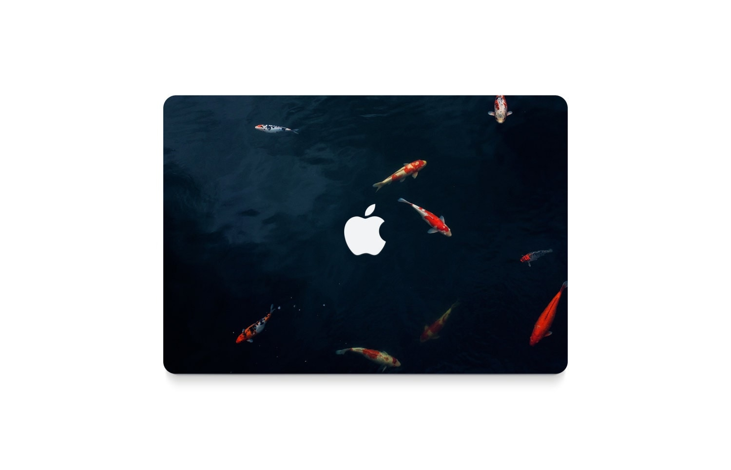 Nature Macbook Decal Macbook Air Sticker Macbook Air Skin Hipster Macbook Skin Hp Laptop Skin Fish Macbook Pro Skin Fish Gift Idea