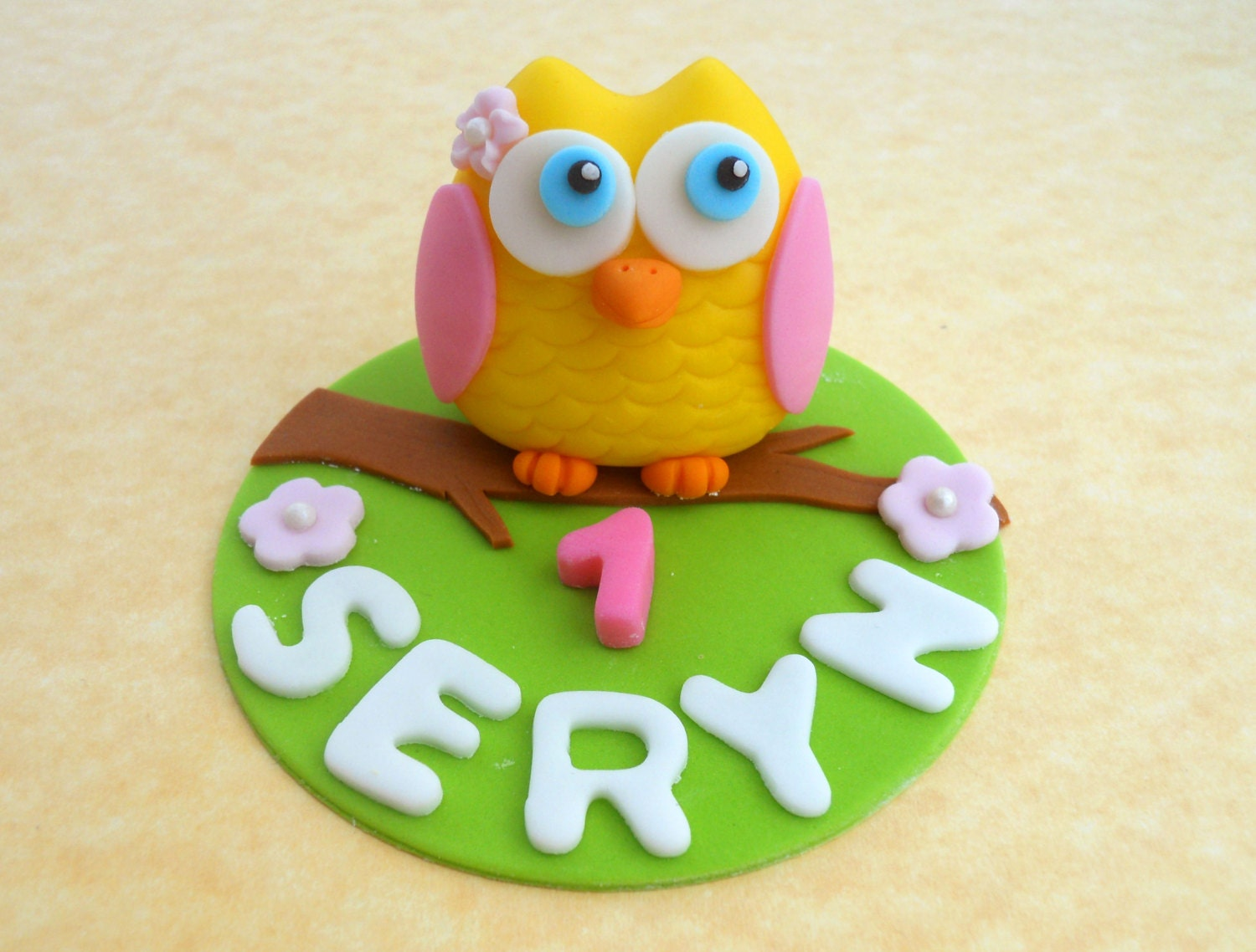 Edible Cake Image Owl : OWL Edible CAKE Topper by Sweet and Edible Catch My Party