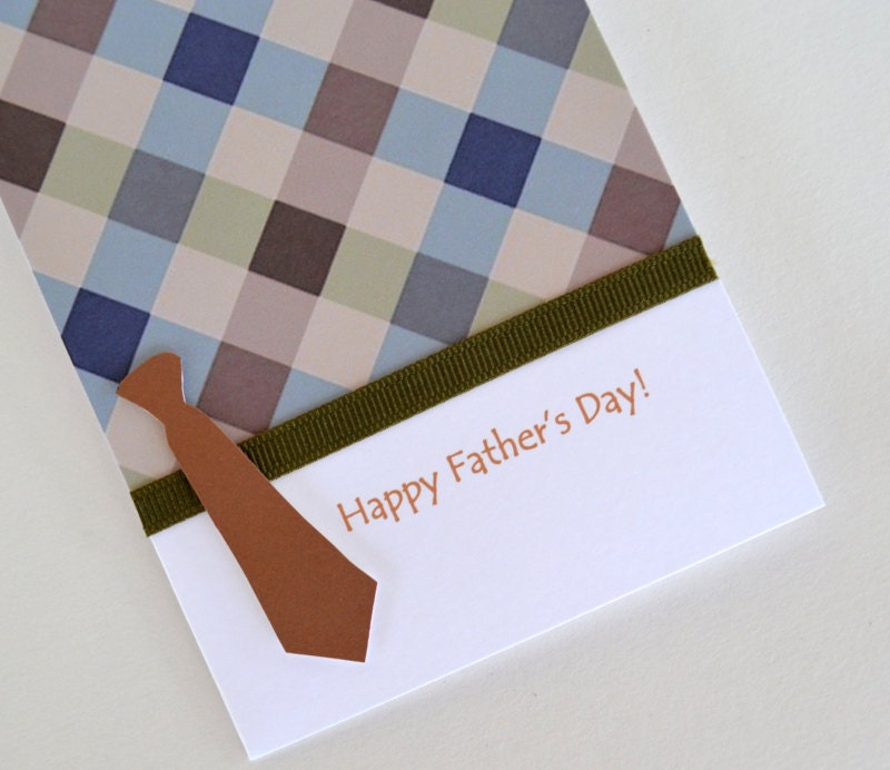 Father's  Day Card -Tie - Discount 5% - yarisiandco