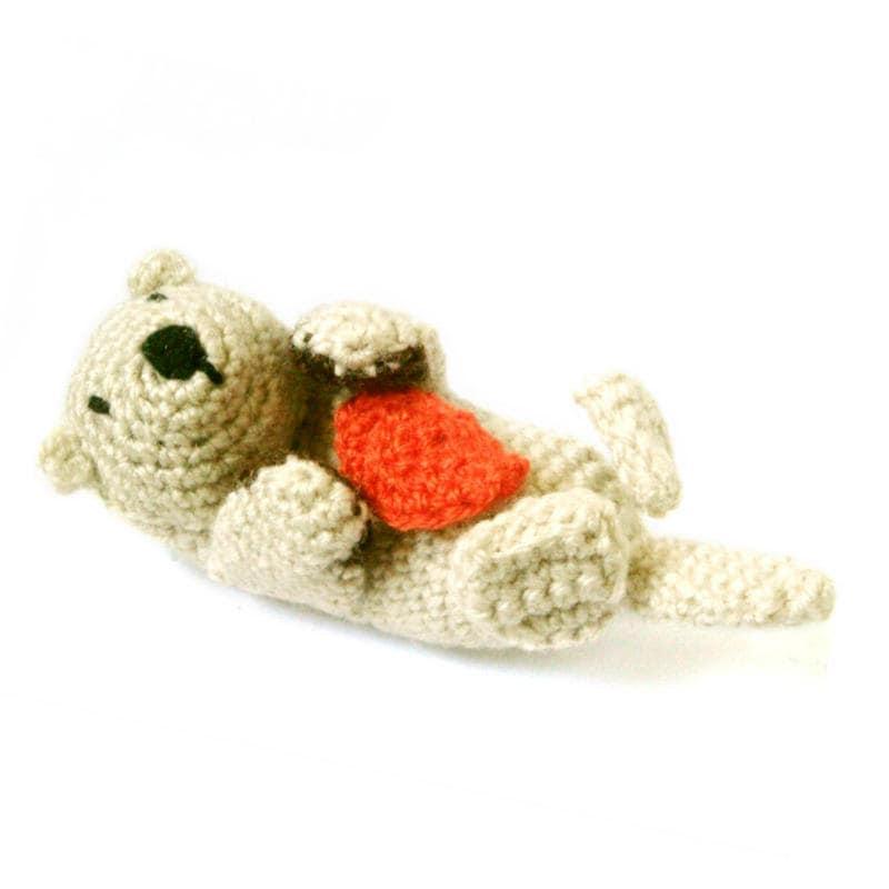 Yoda Amigurumi Pattern Free : Amigurumi Pattern Crochet Sea Otter by MysteriousCats on Etsy
