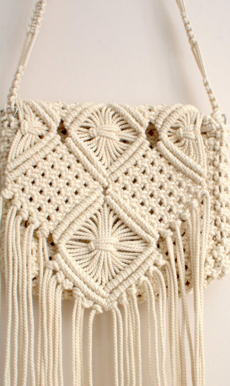 Ready to ship handmade macrame hand bag Boho hand bag HandMade Boho Bag Indian Bag Gypsy Bag Bohemian Bag Fringed Bag Native American