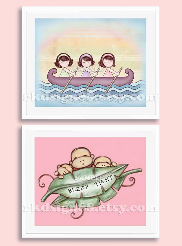nursery art prints baby nursery decor children 39 s wall by rkdsign88