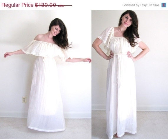 Boho wedding dress mexican wedding dress by coldfish on etsy for Mexican wedding dresses for sale