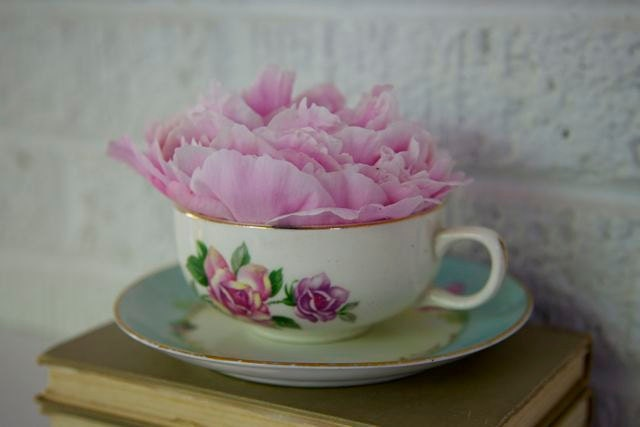 Vintage Bavaria  Tea Cup and Saucer - designhousevintage