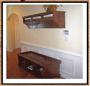 entryway bench and shelf set by neatnooksfurniture on etsy. Black Bedroom Furniture Sets. Home Design Ideas