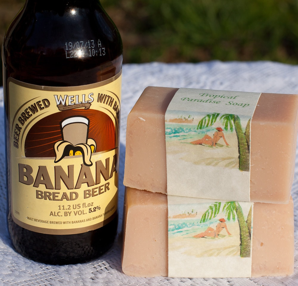 Tropical Paradise Beer Soap - beersuds