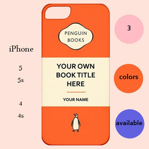 Penguin Book Cover Iphone Case : Penguin classics book casepenguin classicsbook by