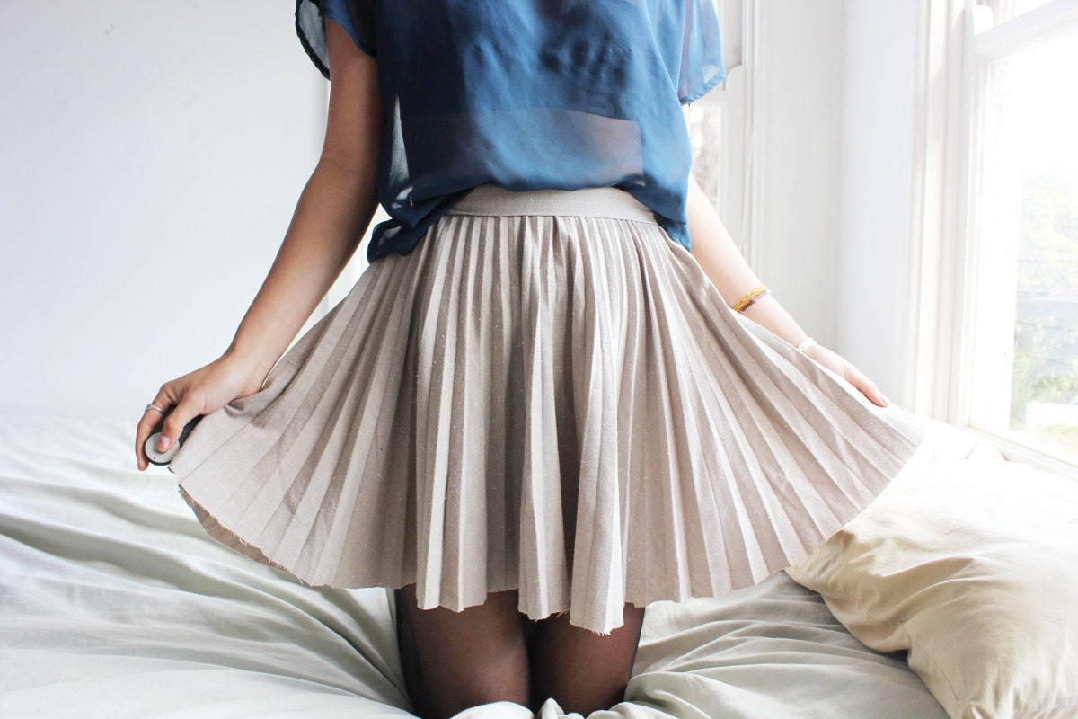 items similar to pleated high waisted skirt on etsy