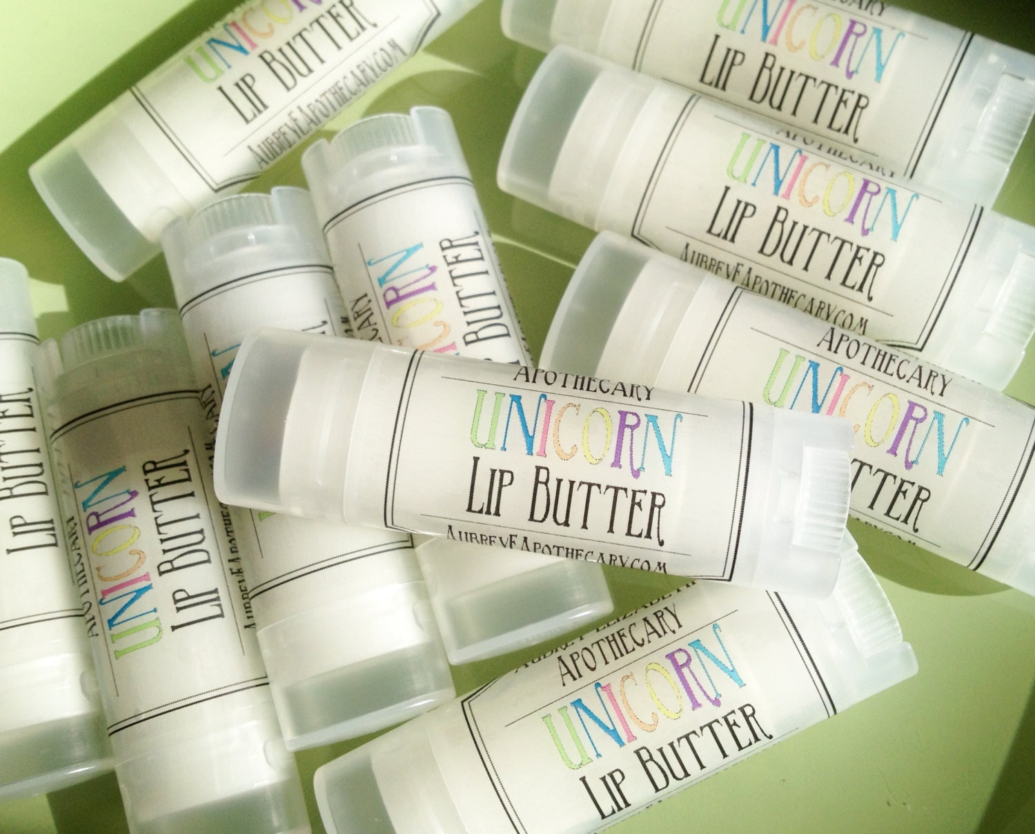 Unicorn Lip balm - Summer chapstick - Lip butter