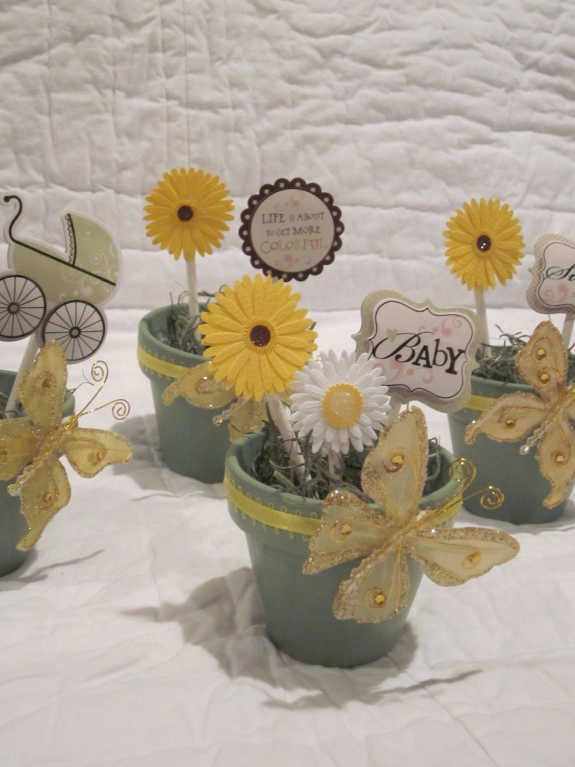 Free Shipping Flower Pot Centerpieces