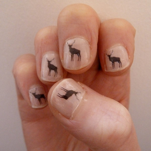 deer nail transfers