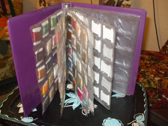 Organizer Binder Sheets For Embroidery Floss By WyoGal56