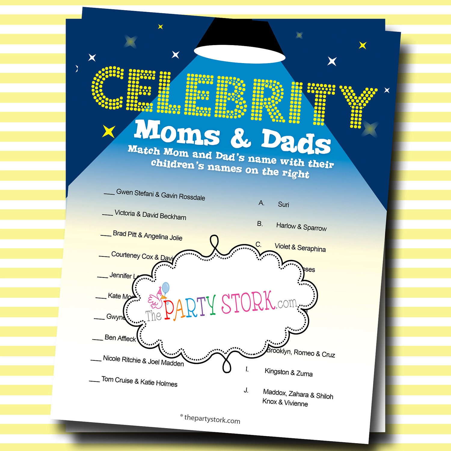 moms and dads shower game baby names printable baby shower games