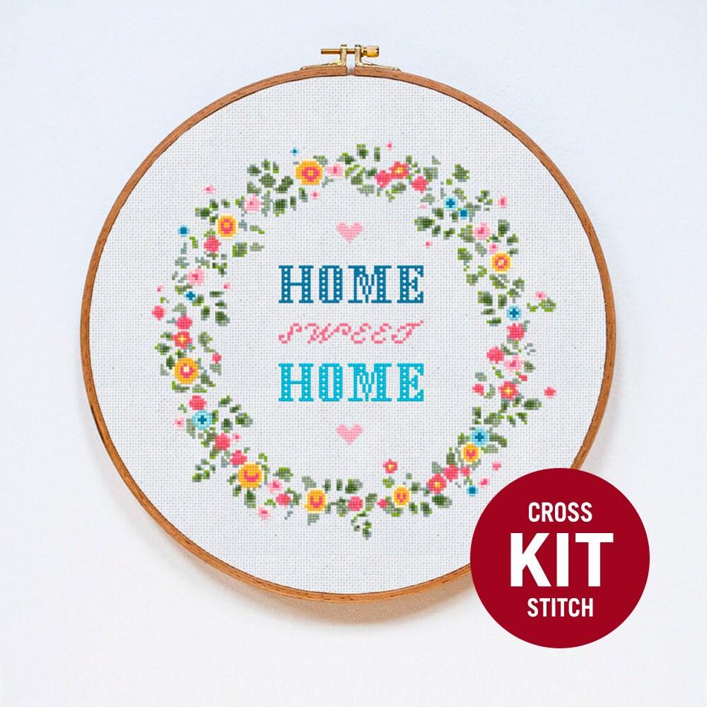 Home вышивка крестом 7