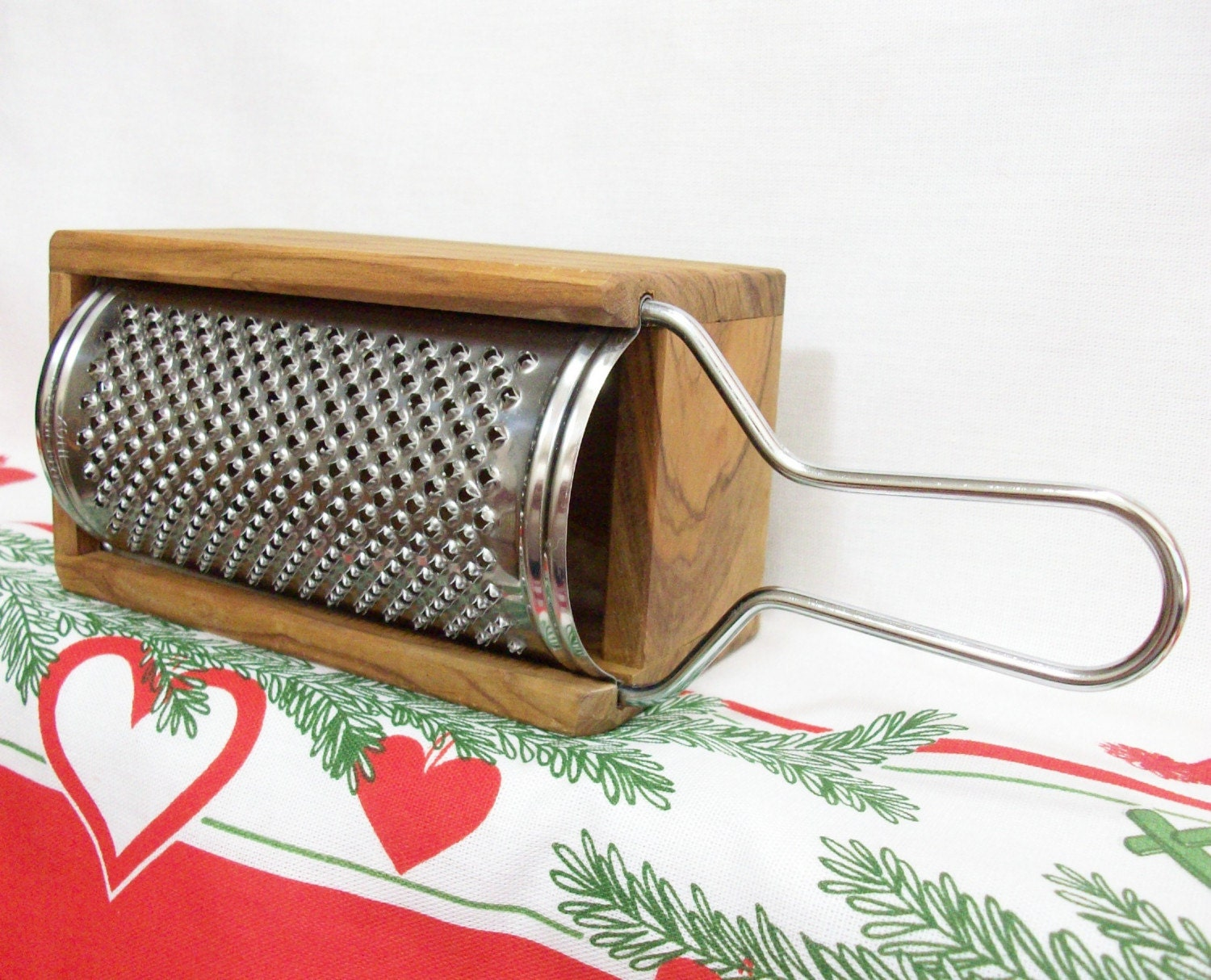 Vintage Italian Cheese Grater With Box By Peachychicboutique