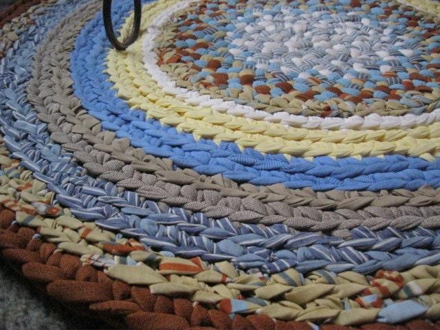 Round Braid Rug Rugs Sale