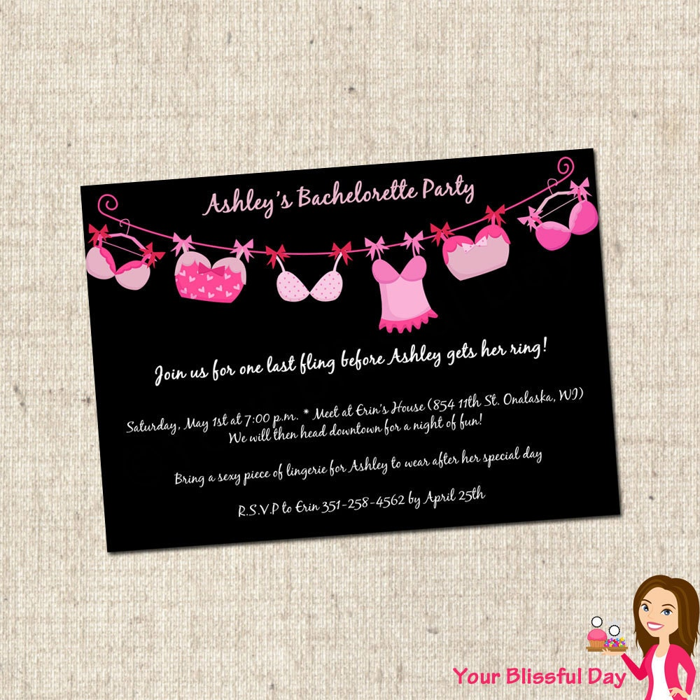 Free Bachelorette Party Invitations can inspire you to create best invitation template