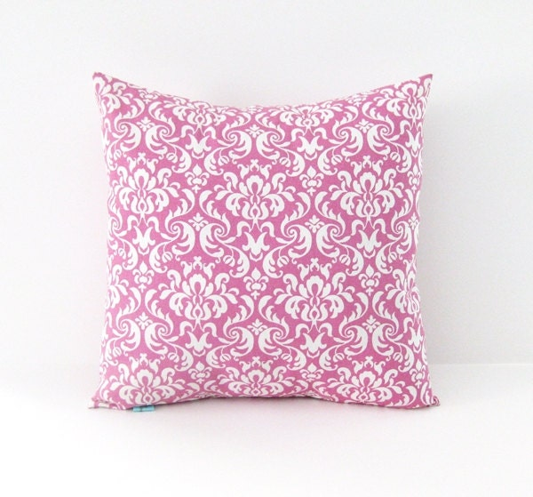 Decorative Pillow Cover Powder Pink Pillow by BlossomPillowCo
