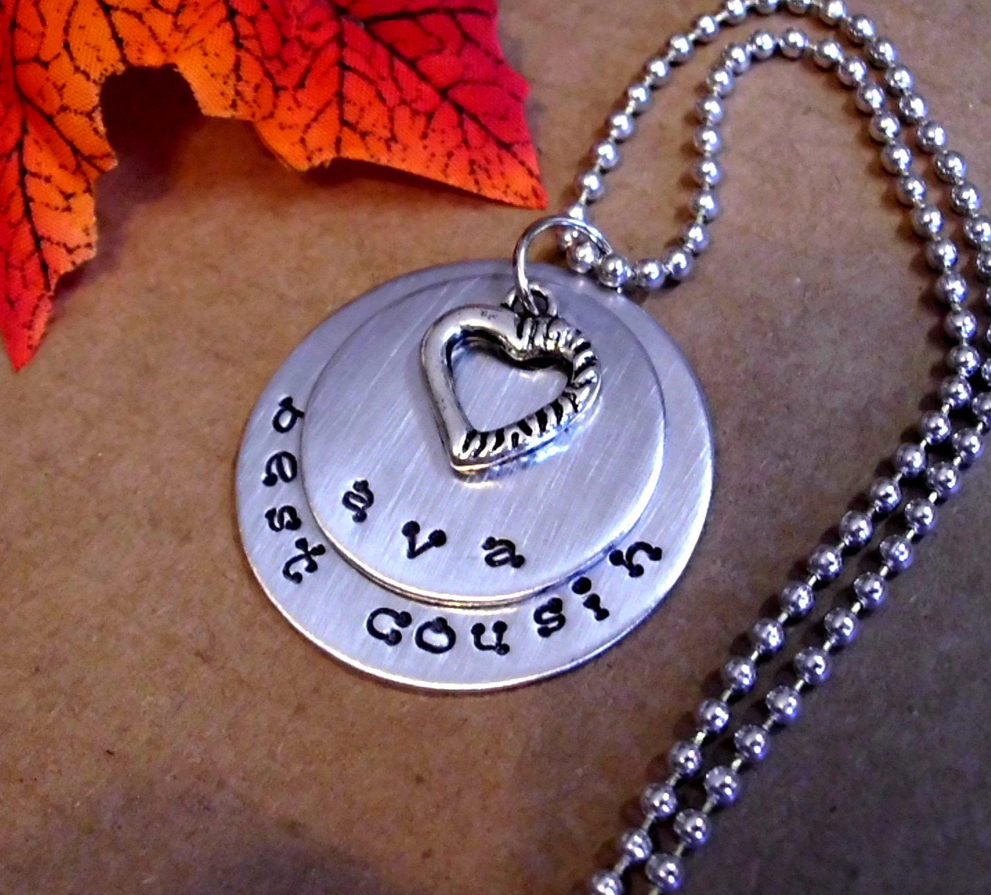 cousin necklace personalized jewelry sted by