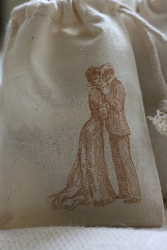 муслина подарок пользу мешок старинных пару x10, свадьба муслина сумки пользу, Гуди мешки для мыла, конфет, хлебобулочных изделий