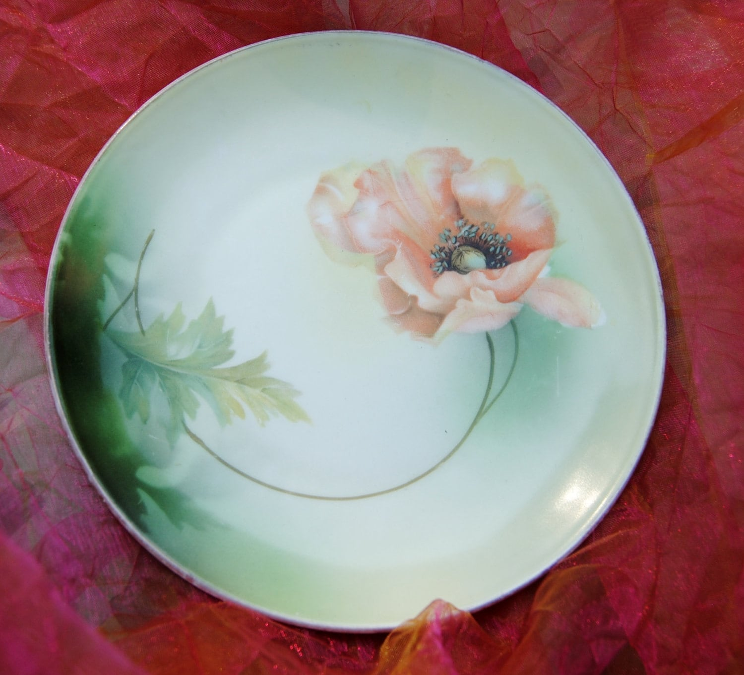 Reserved For Neasa Antique Plate Porcelain Rs German By Ypsa