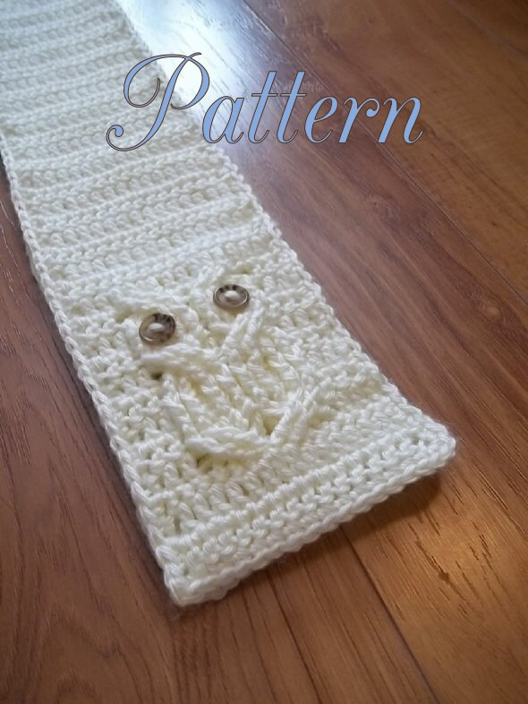 Its a Hoot An Owl Scarf Crochet Pattern child and by TheHookHound