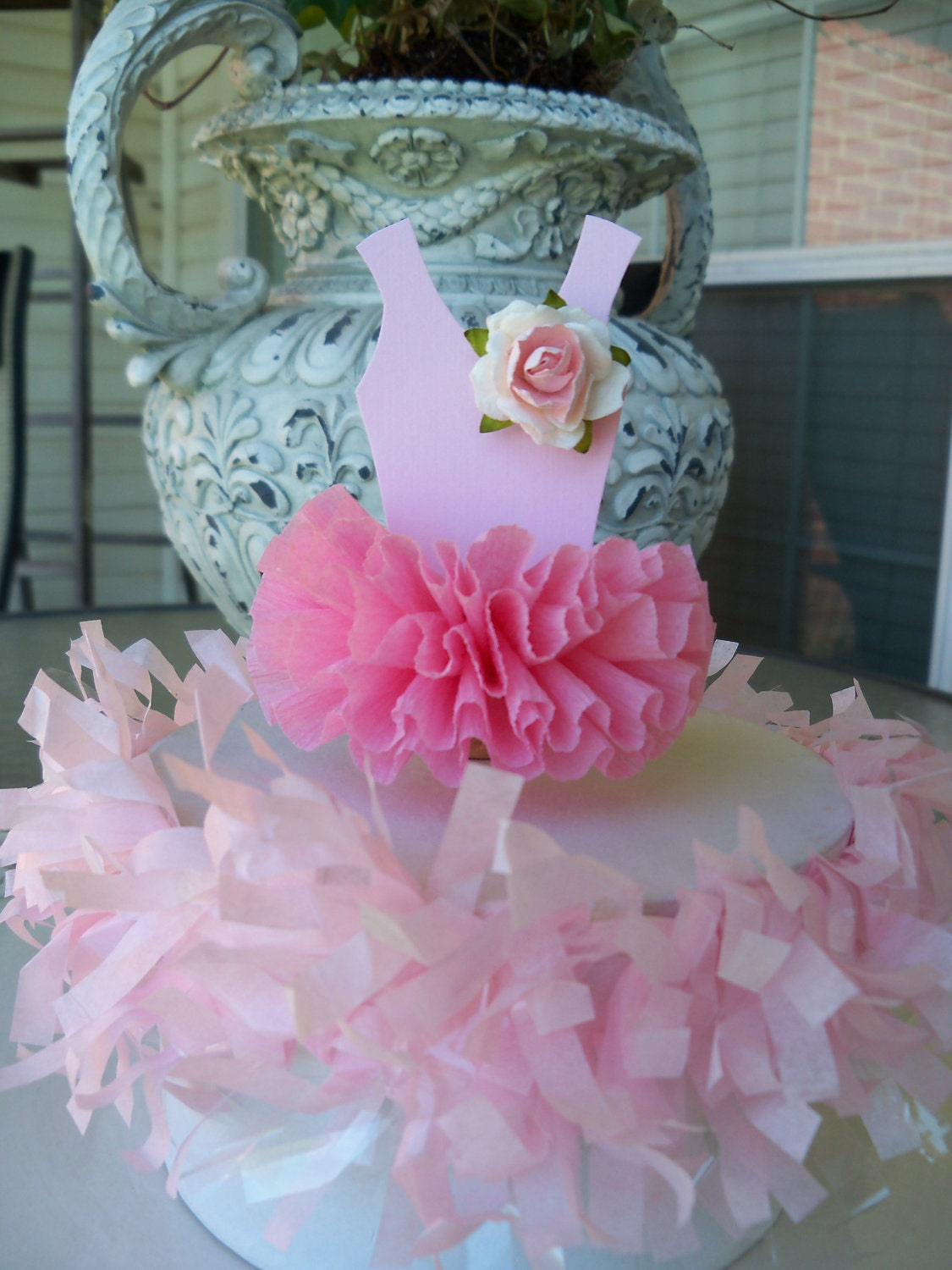 Cake Toppers Birthday Etsy : Ballerina Tutu Cake Topper for Birthday Party by JeanKnee ...