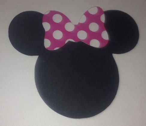 minnie mouse bow cut out 30 2 5 minnie mouse head