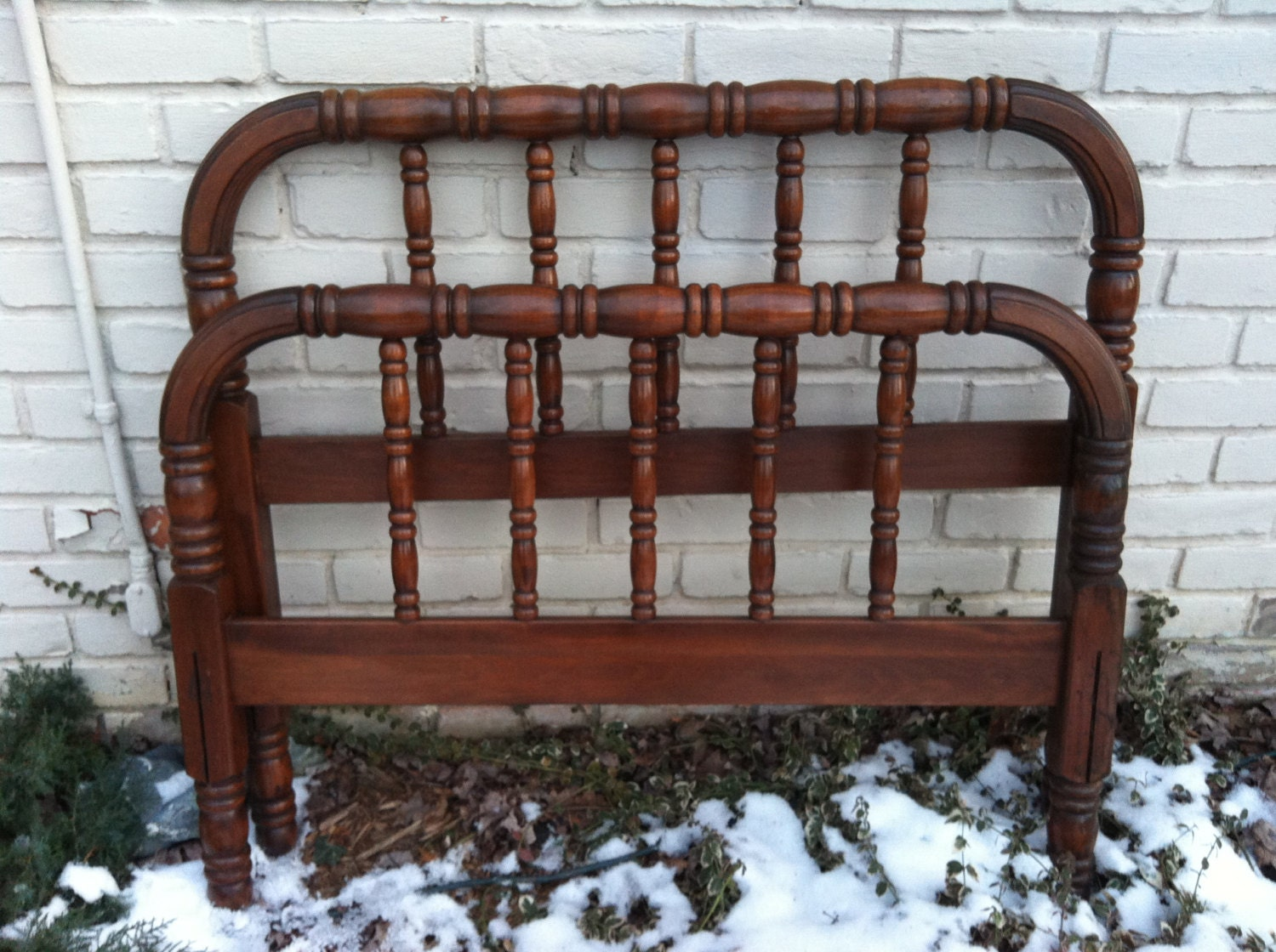 Antique Jenny Lind Twin Bed Custom Paint With By Antique2chic