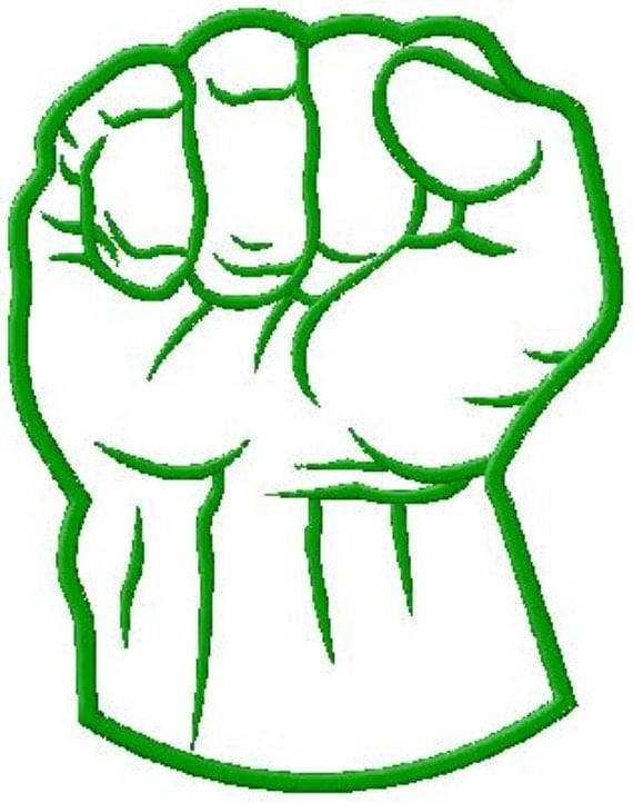The Hulk Fist Logo Images amp Pictures Becuo