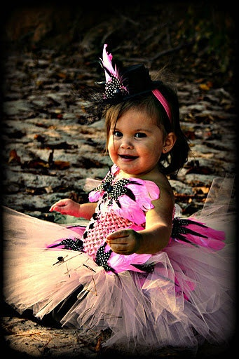 Fabulous in Feathers Tutu Costume Pageant Party Portrait Wedding Flower Girl Holiday Special Occasion Dress - BlissyCouture